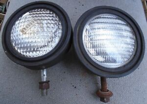Pair 12v Tractor Fender Lights