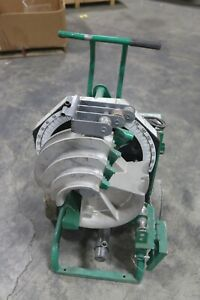 Greenlee 555 Classic Electric Conduit Bender Power Unit Working