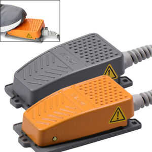 Aluminum Alloy Waterproof Foot Pedal Switch Power Industrial Momentary Control