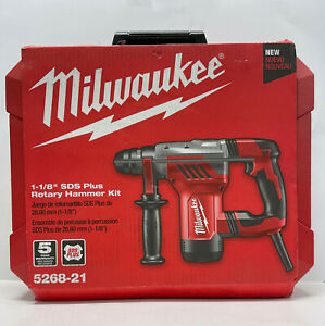 Milwaukee 1 1 8in Sds plus Rotary Hammer 5268 21
