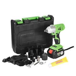 16800mah 1 2 Electric Brushless Cordless Impact Wrench Drill High Torque Tools