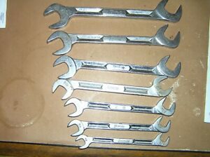 Snap On 4 Way Angle Head Wrench Set Sae 3 8 To 3 4 I Beam Style Free Shiping