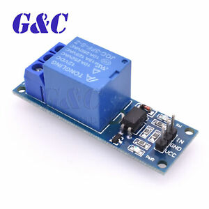 12v One 1 Channel Relay Module Optocouple Board Shield For Pic Avr Dsp Arm