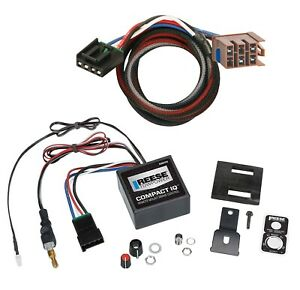 Reese Trailer Brake Control For 03 06 Chevy Avalanche 1500 2500 Wiring 1 3 Axle