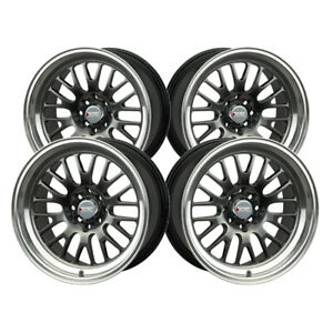 4 Xxr 531 16x8 4 100 73 1 Hub 0 Offset Chromium Black Ml Wheel Rim