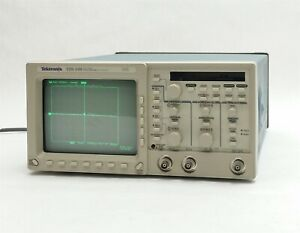 Tektronix Tds 340 2 channel Real time Digital Oscilliscope Gpib 100mhz 500ms s