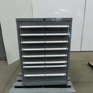 28x28x42 8 Drawer Lista Style Workshop Small Parts Cabinet W Dividers