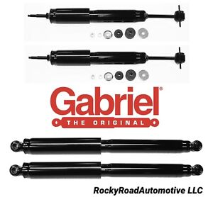 Front Rear Shocks For 1998 2011 Ford Ranger 4x4 4wd Fcs