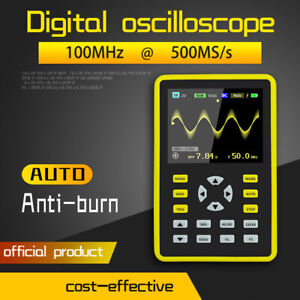 5012h 2 4 Lcd Display Screen Handheld Portable Digital Oscilloscope 100mhz F3m1