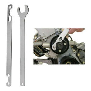 Bmw Fan Clutch Nut Wrench And Water Pump Holder Tool Kit Removal 32mm Silver