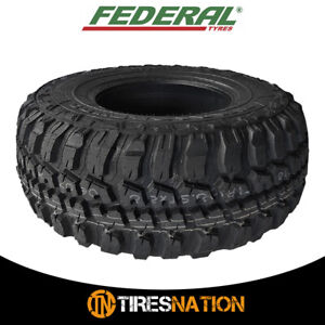 1 New Federal Couragia M T 30x9 50r15 All Terrain Mud Tires