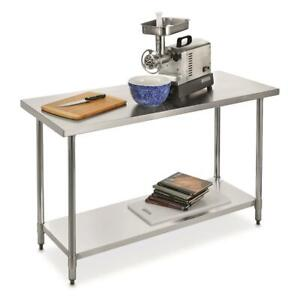 Guide Gear Stainless Steel Work Table 60 X 24