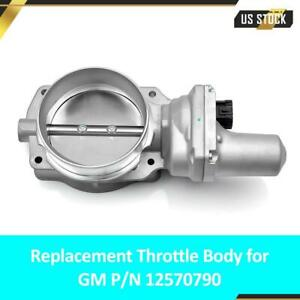Silver Blade 102mm Throttle Body For Ls2 Chevy Corvette Z06 Gto Cts G8 12570790