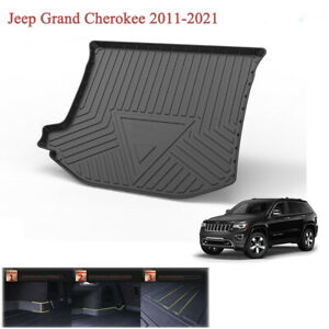 Rear Cargo Liner Tray Trunk Floor Cover Mat For Jeep Grand Cherokee 2012 2021