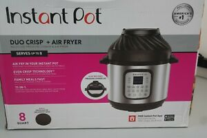 Instant Pot Duo Crisp 11 1 Air Fryer Electric Pressure Cooker Slow Cooker 19b ob