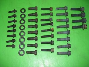 94 02 Dodge Ram Cummins Diesel Nv4500 5 Speed Transmission Bolts Bell Housing