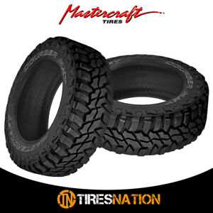 2 New Mastercraft Courser Mxt Lt265 70r17 121q Extreme Off Road Tire