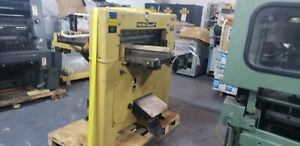 Challenge 30 5 cutter 76cm Yellow Push Button Hydraulic 2 Side Tables