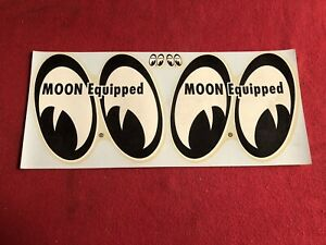 Original Moon Equipment Vintage Water Decal Hot Rod Drag Racing Gasser Nhra Scta