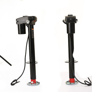 Professional 3500 Lbs 12v Electric Power Tongue Jack Rv Utility Boat Trailer