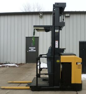 Caterpillar Model Nor30p 2004 3000lbs Capacity Order Picker Electric Forklift