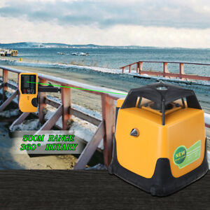 Automatic Rotary Green Beam Laser Self leveling Horizontal 500m Laser Level Kit