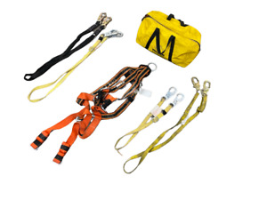 Miller E650 Safety Harness Set W 2 4 Straps And 2 6 Straps W Carry Bag
