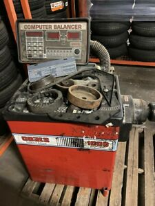 Coats 50x af1 Tire Changer And Coats 1000 Direct Drive Balancer Used