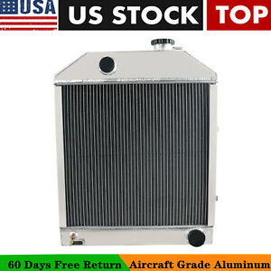 C7nn8005h 4 Row Aluminum Radiator Fit Ford new Holland 2000 2600 3000