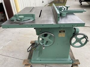 Tannewitz Table Saw 14 16 Model J Industrial Tablesaw Heavy Duty