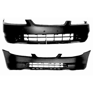Fits 1998 2000 Honda Accord Coupe Front Bumper Cover 101 50447 Capa