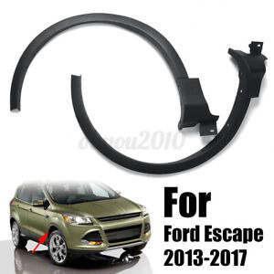 Front Right Left Fender Flare Wheel Well Arch Molding Set For Ford Escape Z
