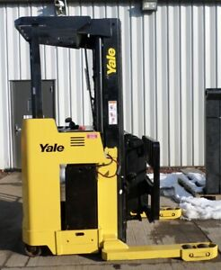 Yale Model Ndr030ae 2005 3000 Lbs Capacity Great Deep Reach Electric Forklift