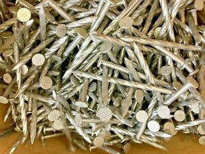 5 Lb Stainless Steel 2 1 2 Spiral Nails 8d
