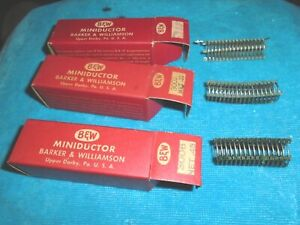 3 B w Miniductor Air Core Inductors 3002 3006