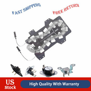 Dc47 00019a Heating Element Thermostat Repair Kit For Samsung Dryer thermal Fuse