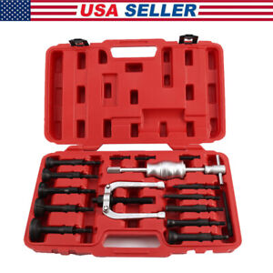 16pcs Blind Hole Pilot Internal Extractor remover Bearing Puller Set With Case
