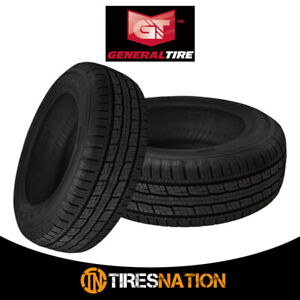 2 New General Grabber Hts60 235 70 16 106t Highway All season Tire