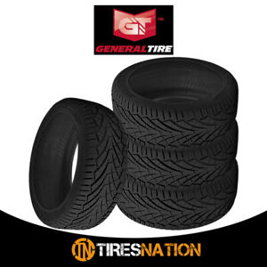 4 New General Grabber Uhp 255 50 19 107w Summer Performance Tire