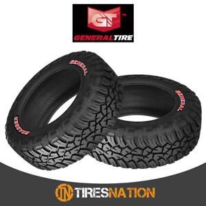 2 New General Grabber X3 33 10 5 r15 114q Off road Max Traction Tire