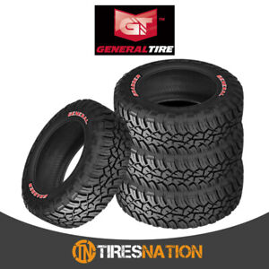 4 New General Grabber X3 33 10 5 r15 114q Off road Max Traction Tire