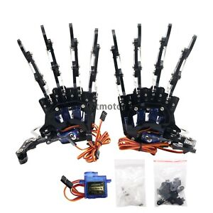 Mechanical Claw Clamper Gripper Arm 5 Fingers Right Hand Left Hand With Servos