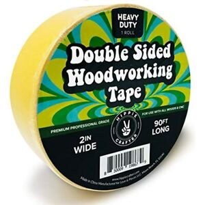 Double Stick Tape For Woodworking 2 Inch Wide Sided Woodworkers 90ft X 2 quot