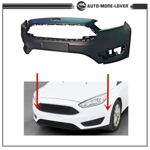 For Ford Focus 2015 2016 2017 2018 S se sel New Primed Front Bumper Cover