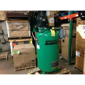 Speedaire 35wc43 80 Gal Vertical Tank Mounted 5hp Electric Air Compressor