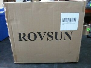 Rovsun 15l Ultrasonic Cleaner Knob Control Timer Heater Adjustable Stainless