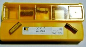 10 New Kennametal Gc 4312 0 030r Carbide Inserts L375s