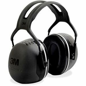 Peltor X5a Over the head Ear Muffs Noise One Size Fits Most Black