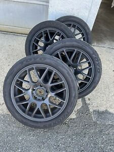 17 Inch Bmw Wheels With Track Tires