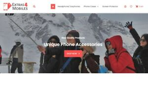 Extras4mobiles com Accessories Store New Website Fully Setup Rememberable